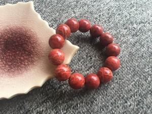 Vòng tay phong thuỷ San hô đỏ tự nhiên