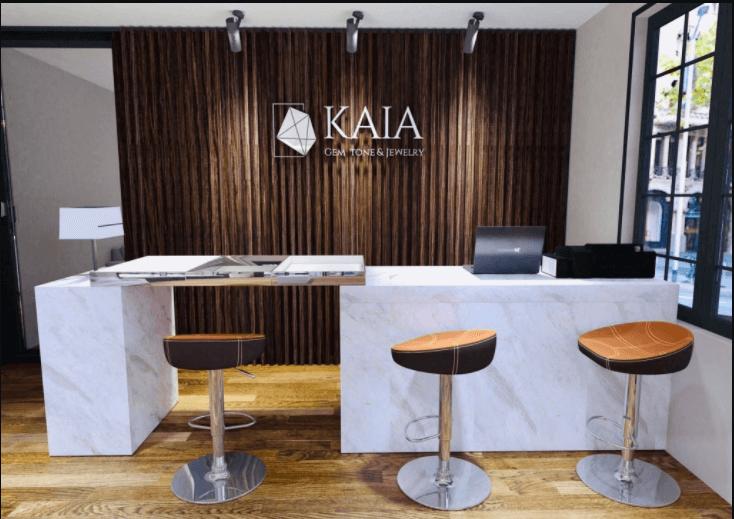 KAIZA & KAIA Vòng Tay Charm Vàng kết hợp Đá Phong Thủy Tự Nhiên