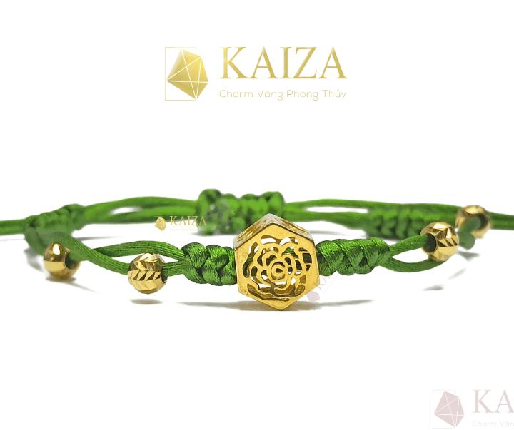 Thiết kế charm hoa hồng đẹp nhất tại KAIZA