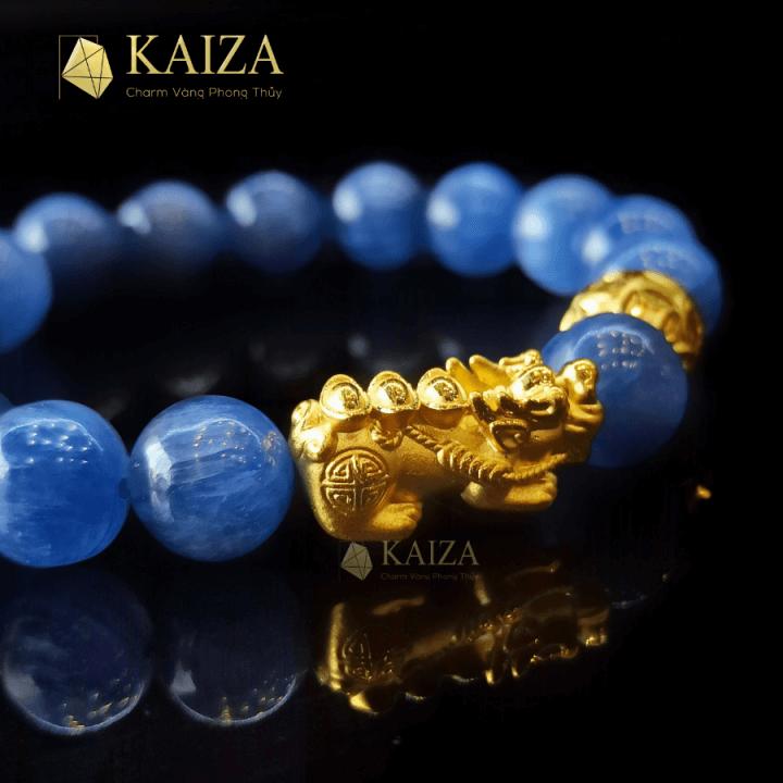Charm vàng tỳ hưu thiên lộc phong thủy thương hiệu KAIZA